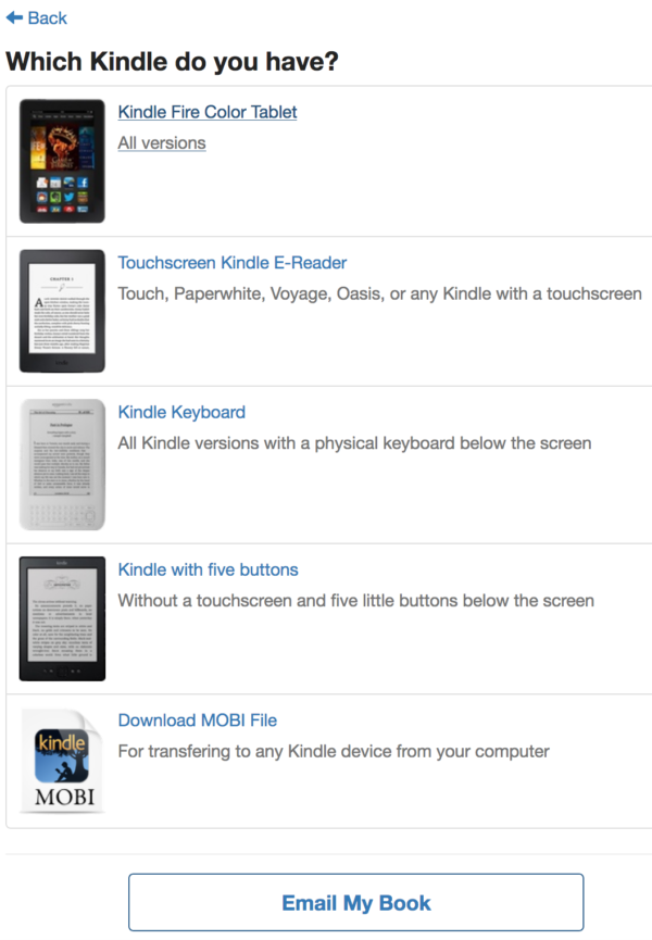 Which Kindle Do You Have?